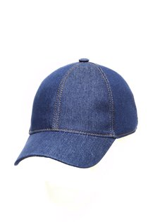 Бейсболка classic, ткань джинсовая, цвет синий