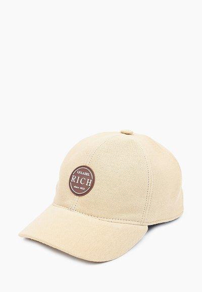 Бейсболка, тань пике(хлопок), цвет бежевый 076-54R