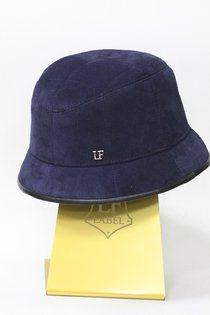 Панама LF, замша, цвет синий