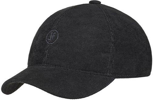 Бейсболка LF, вельвет, цвет чёрный 070-9
