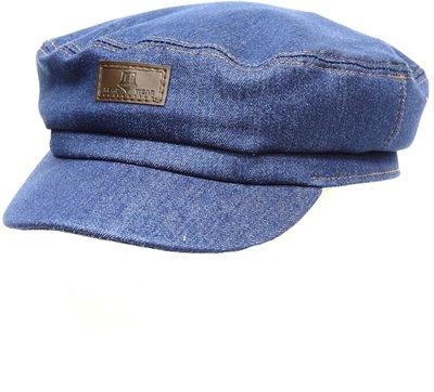 Капитанка NAV, ткань джинсовая, цвет синий 233-1