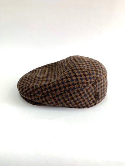 Кепка реглан, ткань (Италия), цвет коричневый 011-42-