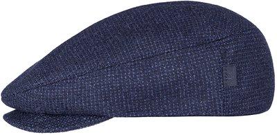Кепка, ткань (шерсть), цвет тёмно-синий 011-47